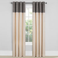 EverDark Vancouver Grey Insulated Curtains - 2 Pack