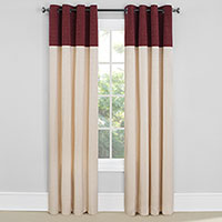 EverDark Vancouver Wine Insulated Curtains - 2 Pack