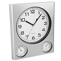 Outdoor Clock Thermometer and Hygrometer