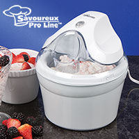 Savoureux Pro Line 1.5 quart Ice Cream Maker