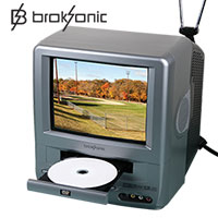 Broksonic CCVG-297 9 Inch TV/DVD System