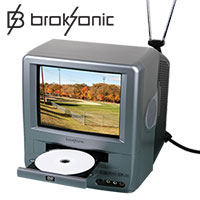 Broksonic DVD TV Combo
