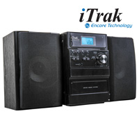 iTrak BT262 CD Player Stereo With Bluetooth