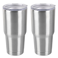Aquatix 30 oz. Stainless Steel Tumblers - 2 Pack