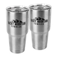 Rocky Mountain Deluxe 30oz. Tumblers - 2 Pack