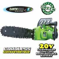 Earthwise 20V Li-Ion Chainsaw