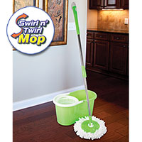 Swirl-n-Twirl Mop