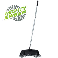 Mighty Sweeper with 3 Rotating Brushes
