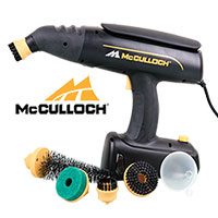 McCulloch MC1245 Rotary Steam Cleaner