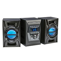 Blackweb 100 Watt Bluetooth CD Stereo System