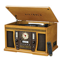 Victrola Aviator Record Player with Bluetooth & Stereo