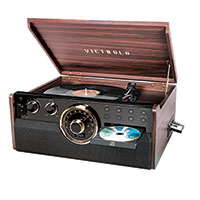 Victrola 6-in-1 Turntable with Bluetooth