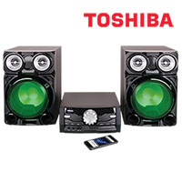 Toshiba 800 Watt Bluetooth Mini System with CD Player