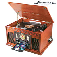 Victrola Bluetooth Music Center