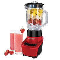 Black & Decker FusionBlade 12-Speed Red Blender