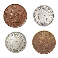 American Coin Treasures Turn of Century Pennies & Nickels