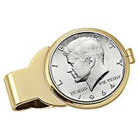 American Coin Treasure Monogram Money Clip