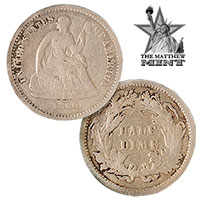 The Mathew Mint Silver Seated Half Dime