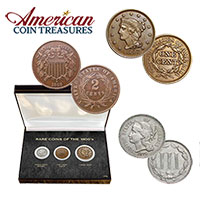 American Coin Treasures 1800's Rare Coins