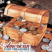 Historic Treasure Chest of Coins