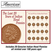 1890-1909 Indian Head Pennies