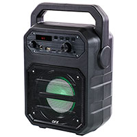 QFX PBX-3 Rechargeable 4 Inch PA & Party Speaker