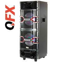 QFX SBX-410205 Bluetooth Karaoke PA System