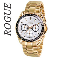 Rogue Gold Chrono Men's Watch