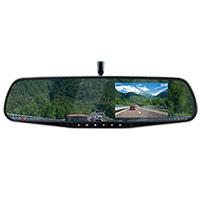 Voltix HD Reverse & Review Mirror Dual Camera
