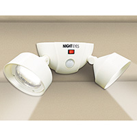 IdeaWorks Twin Wireless Security Lights - 2 Pack