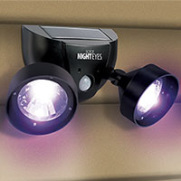 Dual Use Alarm with 70dB Siren and LED Light