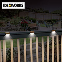 Solar Deck Lights - 6 Pack