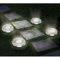 Ideaworks Solar Lights - 8 Pack