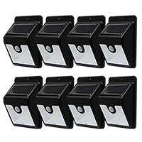 Instant Bright Motion Solar Lights - 4 Pack