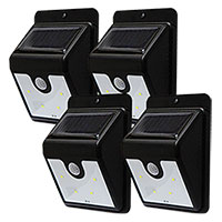 Instant Bright Motion Solar Lights - 8 Pack