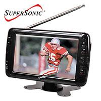 Supersonic Portable TV
