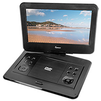 Impecca 13.3 Inch Portable Swivel DVD Player