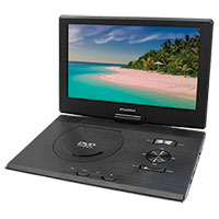 Sylvania SDVD1332R 13.3 Inch Portable DVD Player