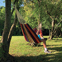 Large Multi-Colored Durable Hammock
