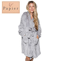 Northpoint Trading Grey Bath Robe