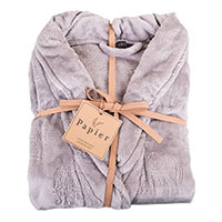 Northpoint Trading Plush Bath Robe - Blush