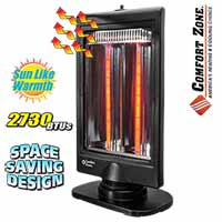 Halogen Flat Panel Heater