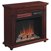 Duraflame Electric Fireplace with Mantle