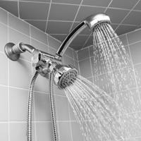 Dual Shower Head Kit