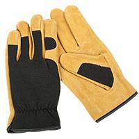Cowhide Hybrid Gloves
