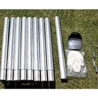 Round Steel Pole 1.9in Diameter