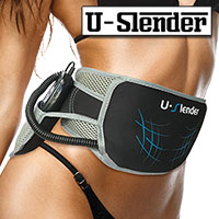 Teleshop BK4881 U-Slender Ab & Core Trainer Belt