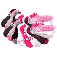 Zone In Women's Athletic Socks - 20 Pack
