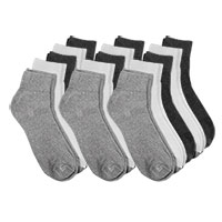Fourcast Men's Combo Ankle Socks - 15pk