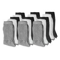 Fourcast Men's Combo Crew Socks - 15pk